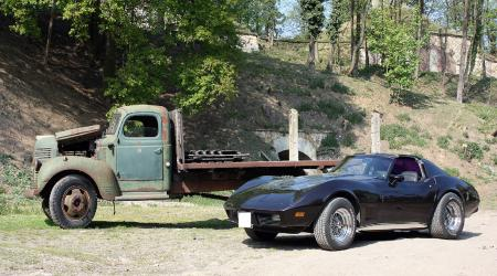 Voiture de collection « Chevrolet Corvette 1977 - V8  5,7L »