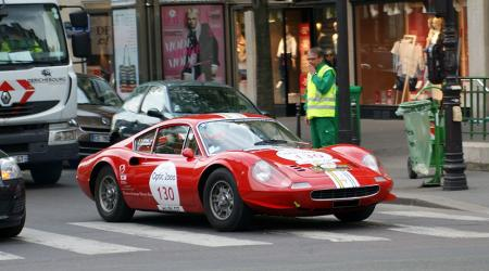 Voiture de collection « Dino 246 GT Tour auto 2013 »