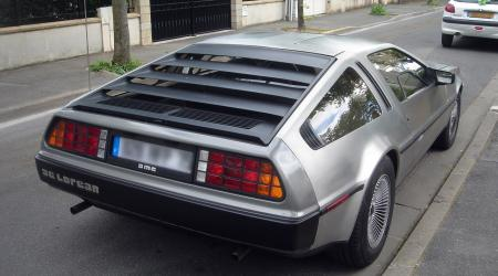 Voiture de collection « DMC De Lorean »