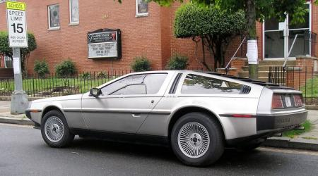 DeLorean DMC-12 à Washington
