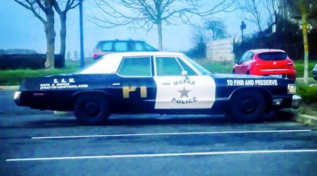 Voiture de collection « Dodge Monaco Police »
