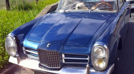 Voiture de collection « Facel Vega Facel III bleue »
