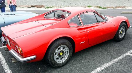 Voiture de collection « Ferrari Dino Gt »