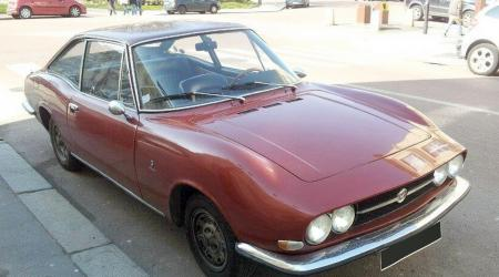 Voiture de collection « Fiat 124 S Moretti »