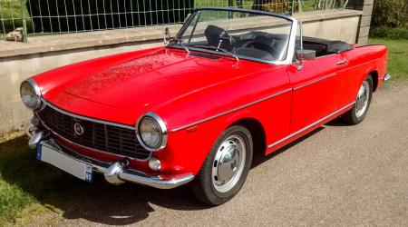 Voiture de collection « Fiat 1500 Cabriolet »