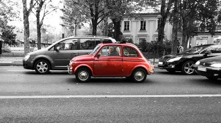 Voiture de collection « Fiat 500 »