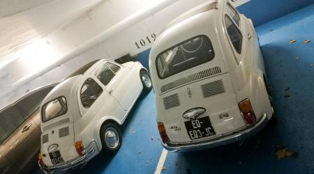 Voiture de collection « Duo de Fiat 500 ! »