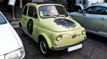 Voiture de collection « Fiat 500 Di Vino »