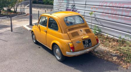 Voiture de collection « Fiat 500L »
