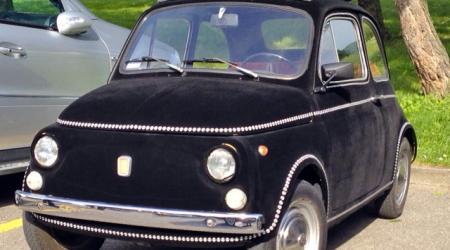 Fiat 500 velours et clous !