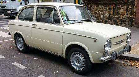 Voiture de collection « Fiat 850 Special »