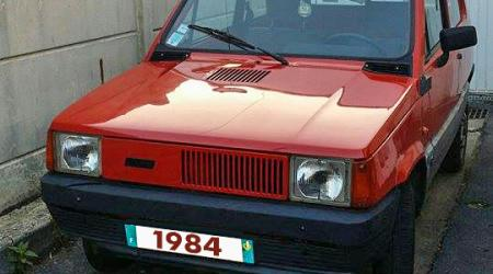 Voiture de collection « Fiat Panda 1984 »