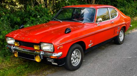 Voiture de collection « Ford Capri V6 »