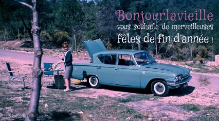 Voiture de collection « Ford Consul Capri »
