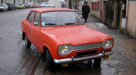 Voiture de collection « Ford Escort »