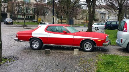 Voiture de collection « Ford Gran Torino »