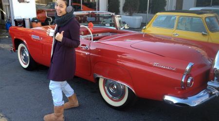 Voiture de collection « Ford Thunderbird »