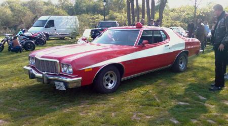 Voiture de collection « Ford Gran Torino - Version Starsky & Hutch »
