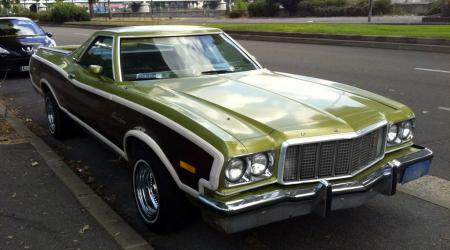 Voiture de collection « Ford Torino Pick-up »