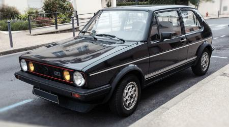 Voiture de collection « Golf GTI Mk1 »