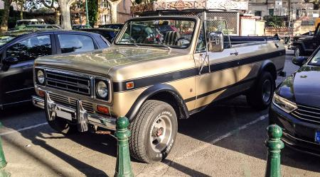 Voiture de collection « International Harvester Scout »