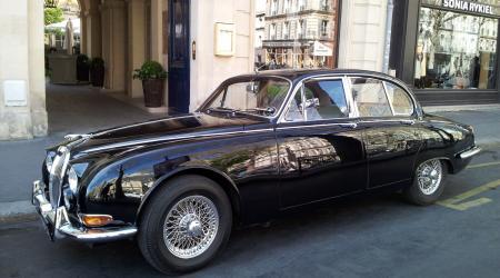 Voiture de collection « Jaguar S-type 3,8l noire »