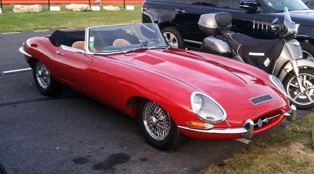 Voiture de collection « Jaguar Type E »