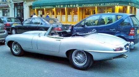 Voiture de collection « Jaguar Type E 3, 8 Boite Moss »
