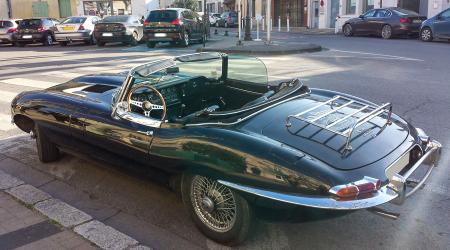 Voiture de collection « Jaguar Type E 4,2l »
