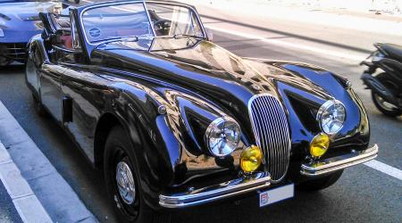 Voiture de collection « Jaguar XK120 »