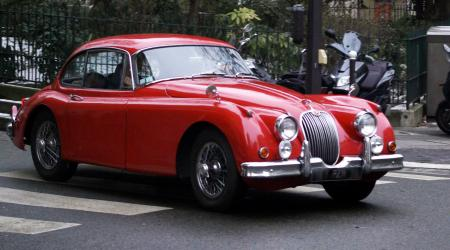 Voiture de collection « Jaguar XK 150 »
