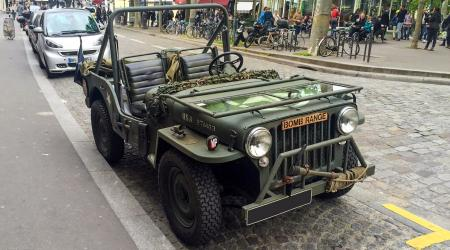 Voiture de collection « Jeep »