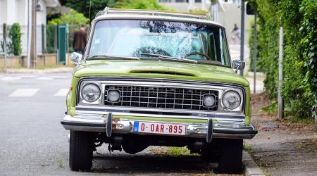 Voiture de collection « Jeep Wagoneer »