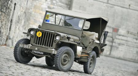 Voiture de collection « Jeep Willys »