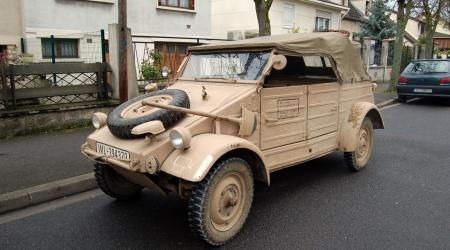 Voiture de collection « Kubelwagen 1944 »