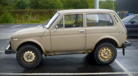 Voiture de collection « Lada Niva 1600 beige »