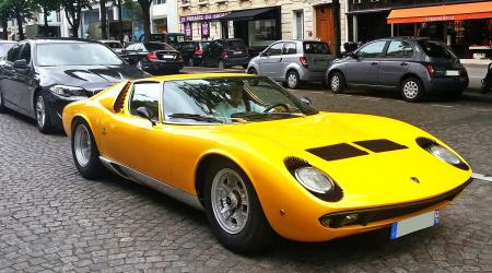 Voiture de collection « Lamborghini Miura »