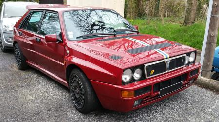 Voiture de collection « Lancia Delta HF Intégrale »