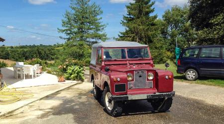 Voiture de collection « Land Rover 1965 »
