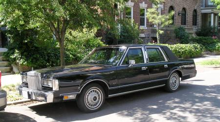 Voiture de collection « Lincoln Town Car »