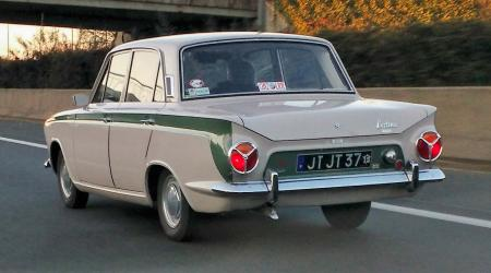 Voiture de collection « Lotus Cortina »