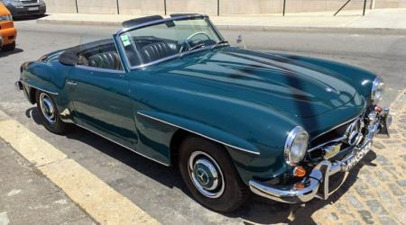 Voiture de collection « Mercedes-benz 190 SL »