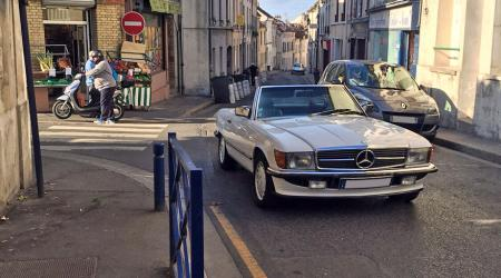 Voiture de collection « Mercedes-Benz 380 SL »