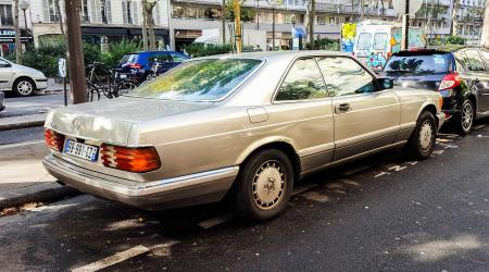 Voiture de collection « Mercedes-Benz 500 SEC W126 »