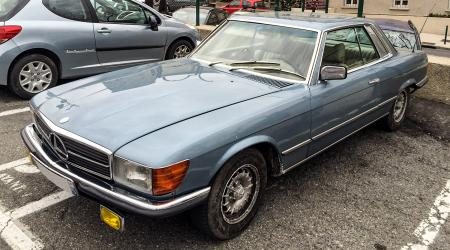 Voiture de collection « Mercedes-Benz 280 SLC »