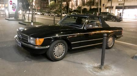 Voiture de collection « Mercedes-Benz 380SL R107 »