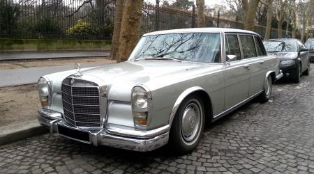 Voiture de collection « Mercedes-Benz 600 »