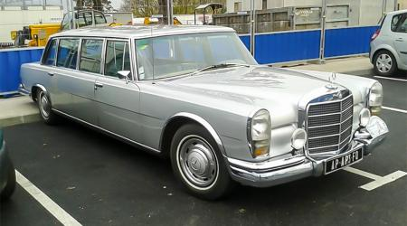 Voiture de collection « Mercedes-Benz 600 (w100) »