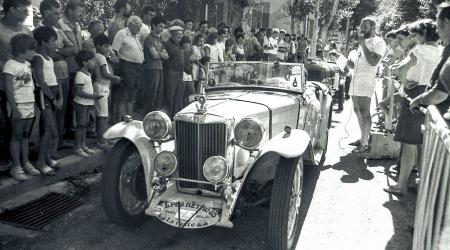Voiture de collection « MG T-type Midget »