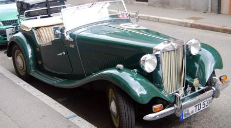 Voiture de collection « MG TD Midget »